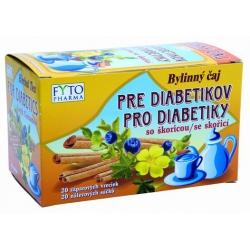 Diabetický čaj so škoricou
