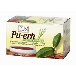 Pu-erh s citrónovou trávou