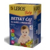 LEROS Baby Detský čaj Kašeľ, priedušky