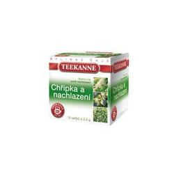Chrípka a prechladnutie TEEKANNE čaj