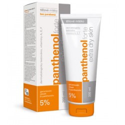 Panthenol forte 5% body milk extra dry skin