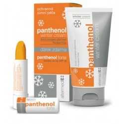Panthenol winter cream 50ml + lip balm 5ml