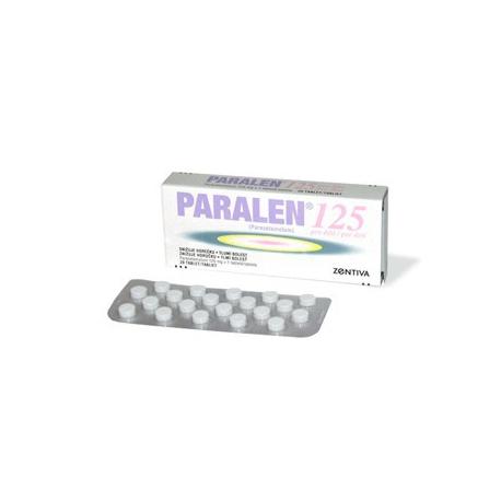 PARALEN 125 (tbl 20x125 mg)