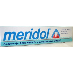 Meridol Duopack 2x75ml zubná pasta+Zub.kefka Soft