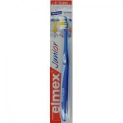 Elmex JUNIOR zubná kefka duopack + guma