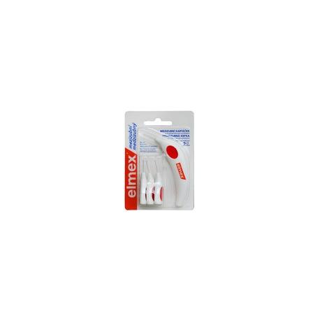 Elmex Medzizubné kefky 2mm - 6ks bal červené