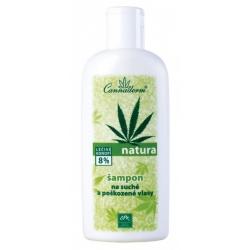 Natura šampón na suché a poškodené vlasy