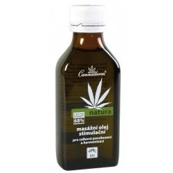 Cannaderm Natura masážny olej stimulačný