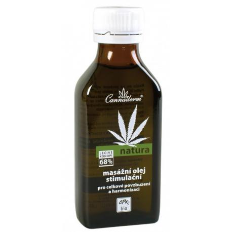 Natura masážny olej stimulačný