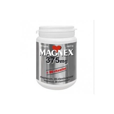 Magnex 375mg +B6 180tbl