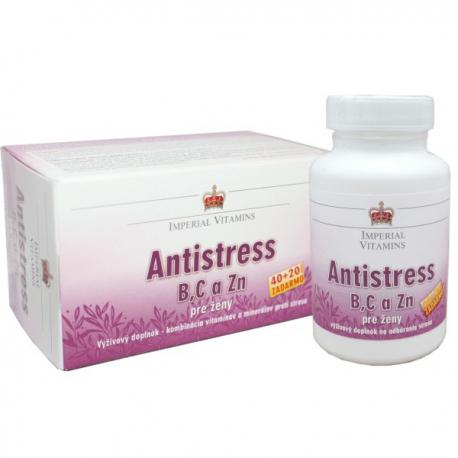 Antistress B,C a Zn pre ženy