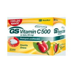 GS Vitamín C 500 so šípkami 30tbl