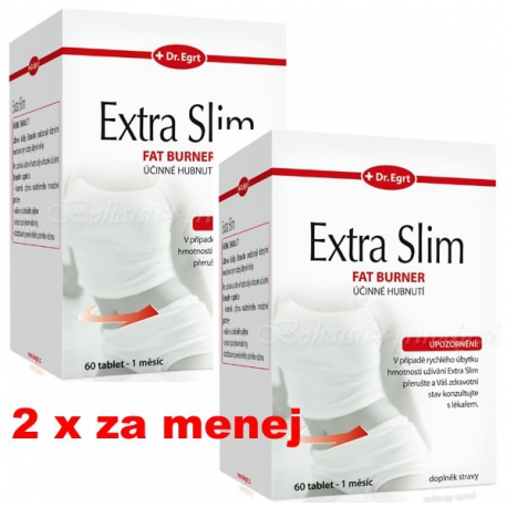 Extra Slim Fat Burner 60 + 60 tbl