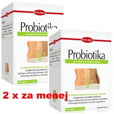 Probiotika 60 + 60 cps