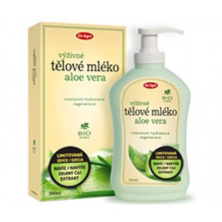 Telové mlieko Aloe Vera zo zeleným čajom