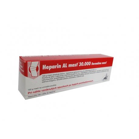 HEPARIN AL GEL 30000 (gel 100 g (tuba Al))  dlhodobo nedostupny