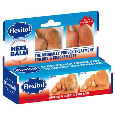 Flexitol Foot Balm krém na popraskané päty 56g