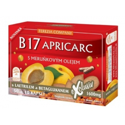 B17 APRICARC s marhuľovým olejom vitamín