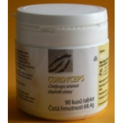 CORDYCEPS sinensis - 90 tabliet po 500 mg sušenej huby