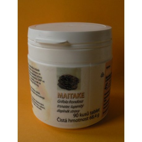 Good Nature - MAITAKE, 90 tabliet po 500 mg sušenej huby