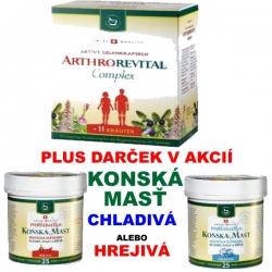 ARTHROREVITAL - Complex + KONSKÁ MASŤ pravá Švajčiarska
