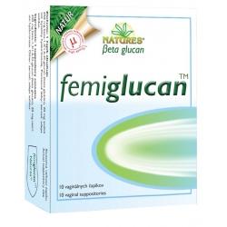 Femiglucan 10 vag. čapíkov