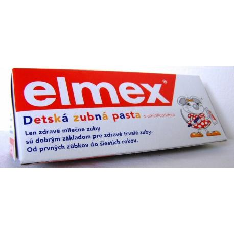 Zubná pasta detská ELMEX