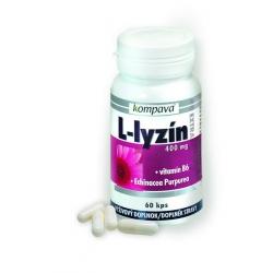 L-lyzín extra 400mg / 60 kps