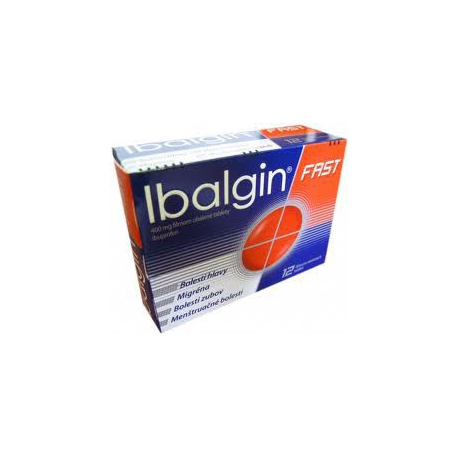 Ibalgin Fast 12x400mg