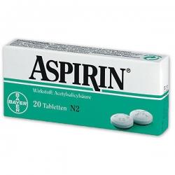 Aspirin tbl 20x500 mg