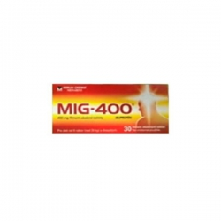 MIG-400 tbl flm 30x400 mg