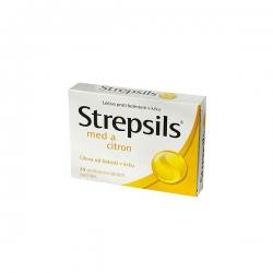 Strepsils Med a Citrón pas ord 24 (blis. PVC/PVDC/Al)
