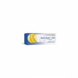 MAXI-KALZ 500 tbl eff 20x500 mg
