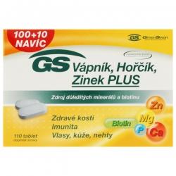 GS Vápnik, Horčík, Zinok PLUS 100tbl