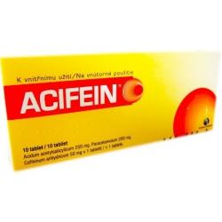 ACIFEIN tbl 10 (blis.PVC/Al)