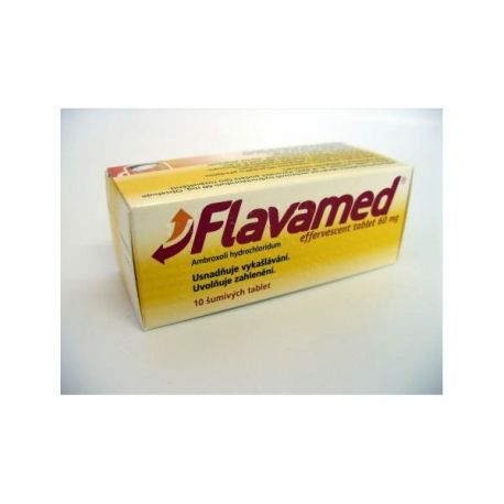 Flavamed Cough tablety 20ks