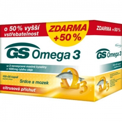 GS Omega 3 cps 100+20