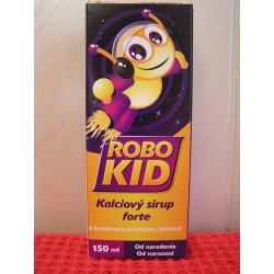 RoboKid Kalciový sirup forte s banánovou príchuťou od narodenia 1x150 ml