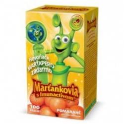 MARŤANKOVIA IMUNACTIV - pomaranč 100tbl + darček