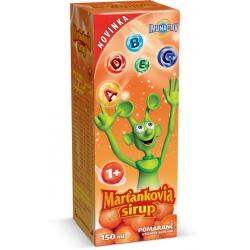 MARŤANKOVIA SIRUP 150ml - pomaranč