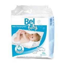 Bel baby - prebaľovacie podložky 10ks 60x60cm