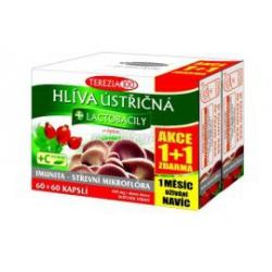 Hliva ustricová + lactobacily + vit. C 150+30 cps