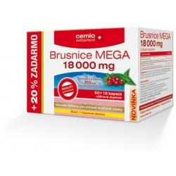 Cemio Brusnice MEGA 18 000 mg so žihľavou