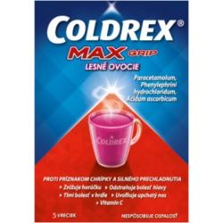 Coldrex MaxGrip Lesné ovocie 10 sáčkov