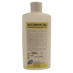 Alcoman Gel, Dezinfekcia na ruky, alkoholová