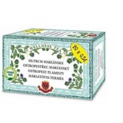 Ostropestrec mariánsky - Silybum marianum čaj na regeneráciu pečene