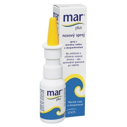 MAR PLUS 5% nosový sprej 20ml