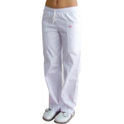 Nohavice SUZI 38 zelená/biela - skladom ihneď k odberu 1ks