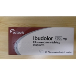 IBUDOLOR 200 MG tbl flm 30x200 mg (blis.PVC/Al nepriehľ.)