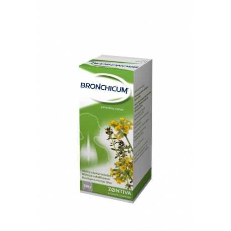 Bronchicum sol por 1x100 ml/130 g (fľ.skl.)